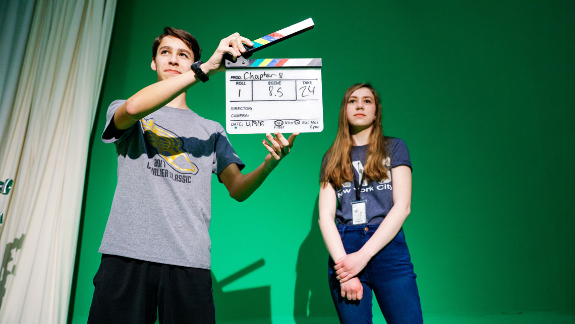 Digital Filmmaking at the Fine Arts Center